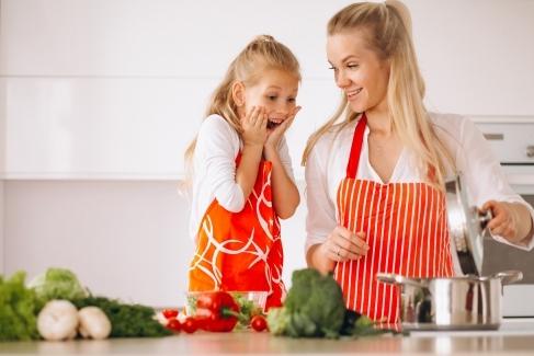 Veselie în bucătărie