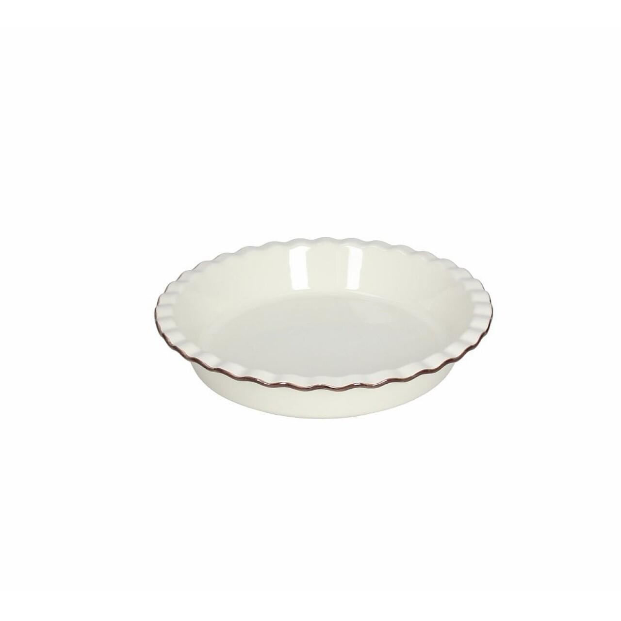 Vas de copt Country Cook, Tognana, Ø 25 x 5 cm, ceramica, crem