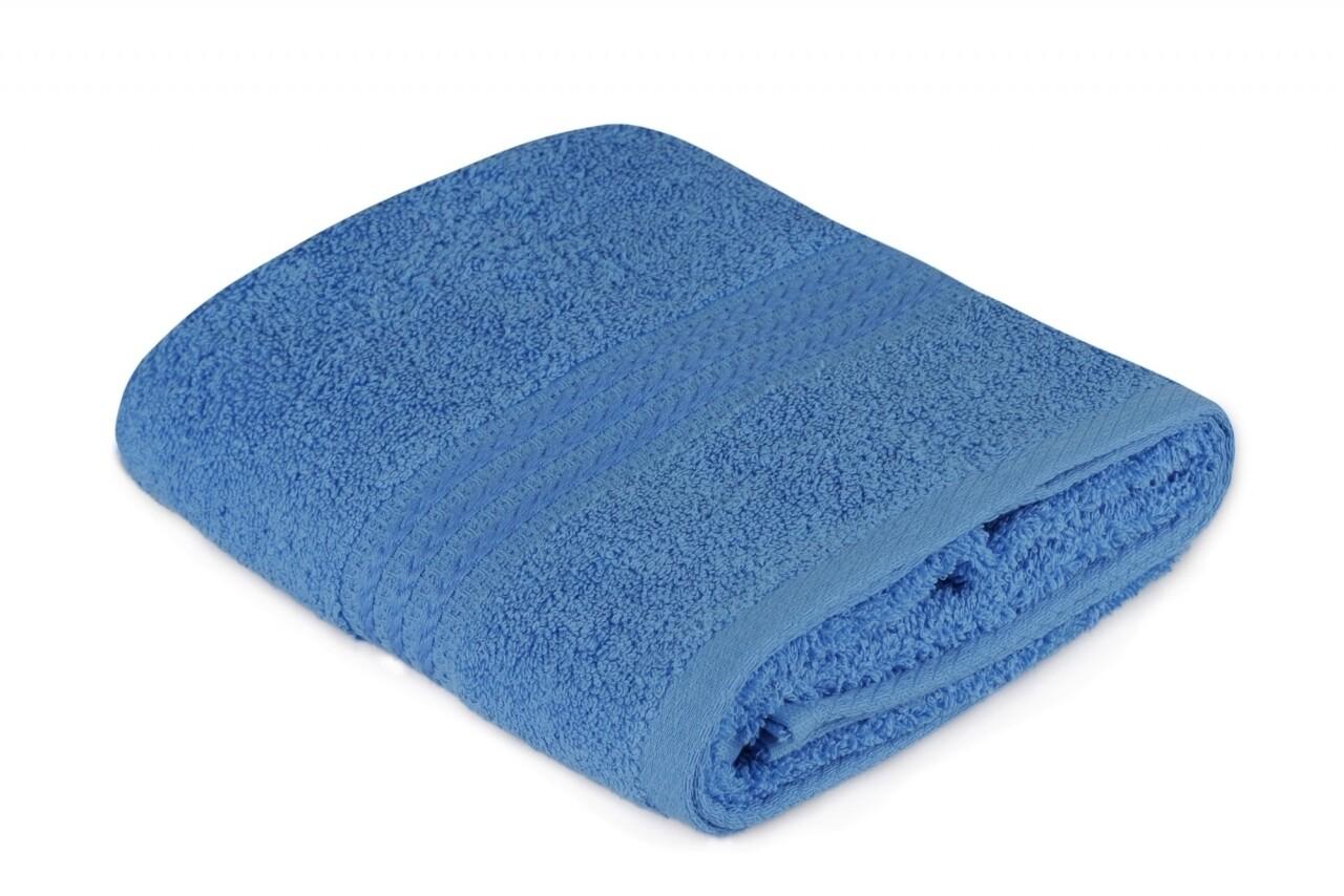 Prosop de maini, Hobby, 50x90 cm, 100% bumbac, albastru inchis
