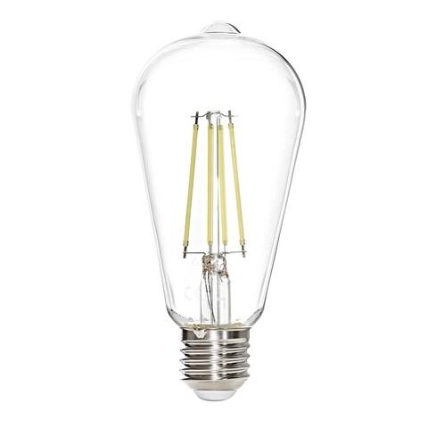 Bec LED, Sage, ST64 - White, 7 W, 6500K, 806 Lm, sticla