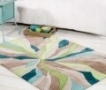 Covor Infinite Splinter Teal/Green 160X220 cm