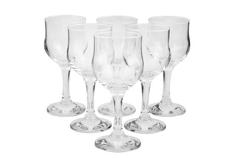 Set 6 pahare vin Elegance, Pasabahce, 15 cm, sticla, transparent