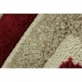 Covor Venice Imperial Red, Flair Rugs, 80 x 150 cm, 100% polipropilena Heatset, rosu/bej