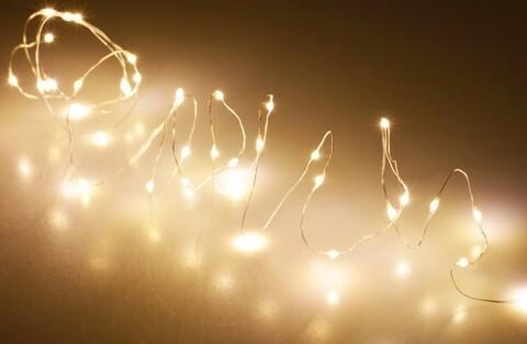Instalatie Micro LED, Christmas Lights, 195 cm, 40 LED-uri, lumina calda