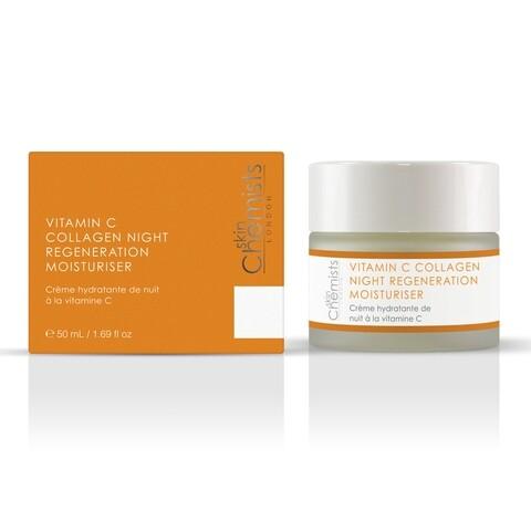 Crema regeneratoare de noapte, SkinChemists, Advanced Vitamin C Collagen Night Regeneration, 50 ml