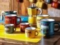 Cana pentru cafea, Tognana, 360 ml, ceramica, rosu