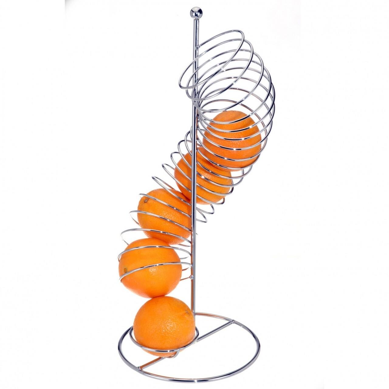 Suport pentru fructe spirală din fier 20x47 cm