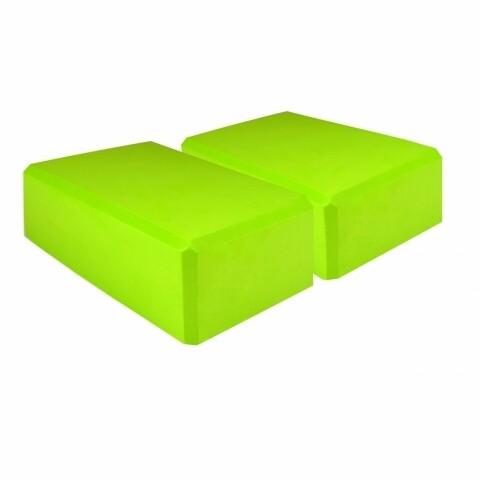 Set 2 cuburi Yoga Green 23x14x8 cm