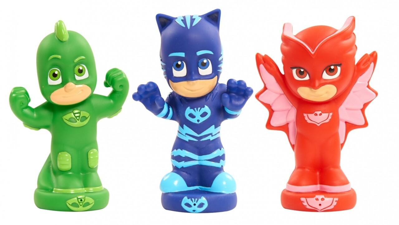 Set 3 figurine Eroi in pijamale