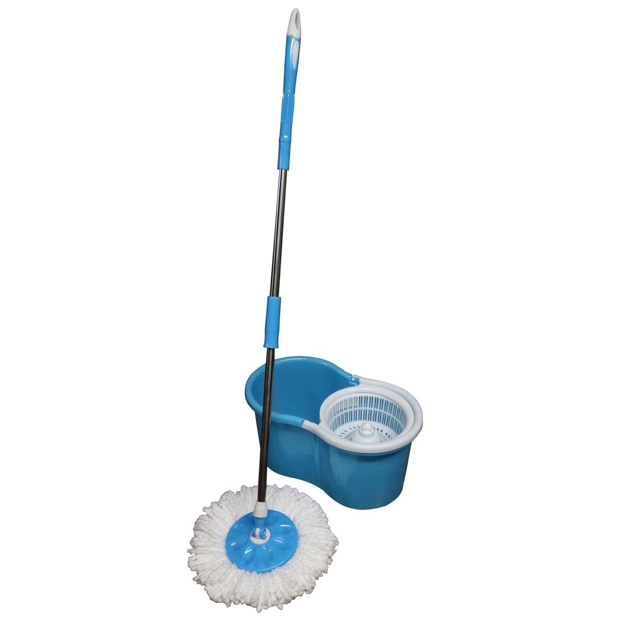 Galeata cu mop rotativ Primo Blue, Vanora, 12 L, alb/albastru