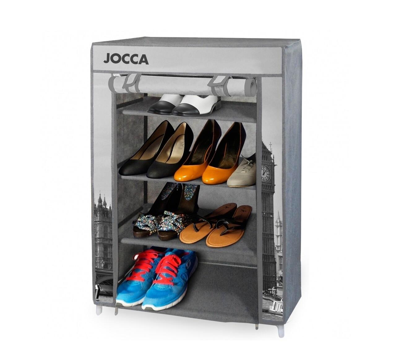 Pantofar Londra, Jocca, 80x60x30 cm, TNT, gri