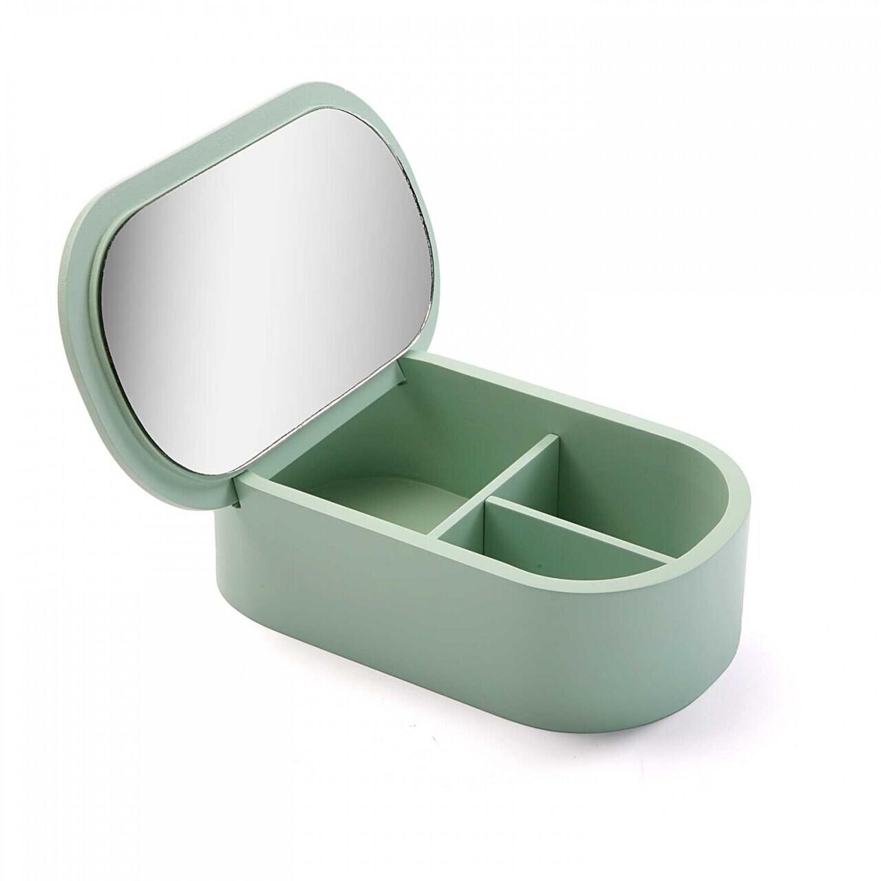 Cutie de bijuterii cu sertare Green