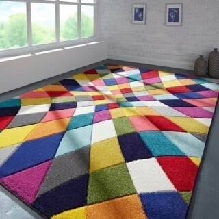 Covor Spectrum Rhumba, Flair Rugs, 120 x 170 cm, 100% polipropilena, multicolor