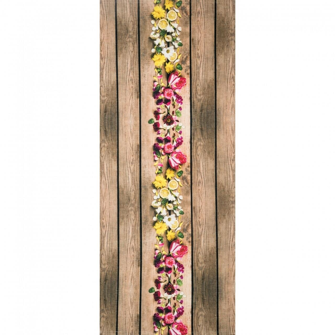 Covor rezistent Webtappeti NATURE CM 58x140 cm, multicolor