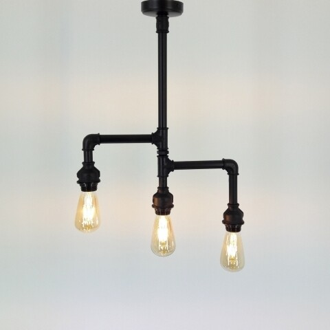 Candelabru All Design, metal, 44x50x10 cm, Black