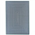 Covor indoor outdoor Floorita BRAID NAVY 133X190