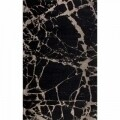 Covor rezistent Eko, SM 21 - Black, Gold XW, 100% acril,  135 x 200 cm
