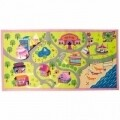 Covor Matrix Kiddy Girls World Multi 80X120 cm
