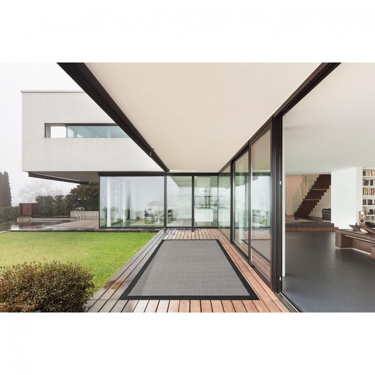 Covor indoor outdoor Floorita CHROME BLACK 135X190