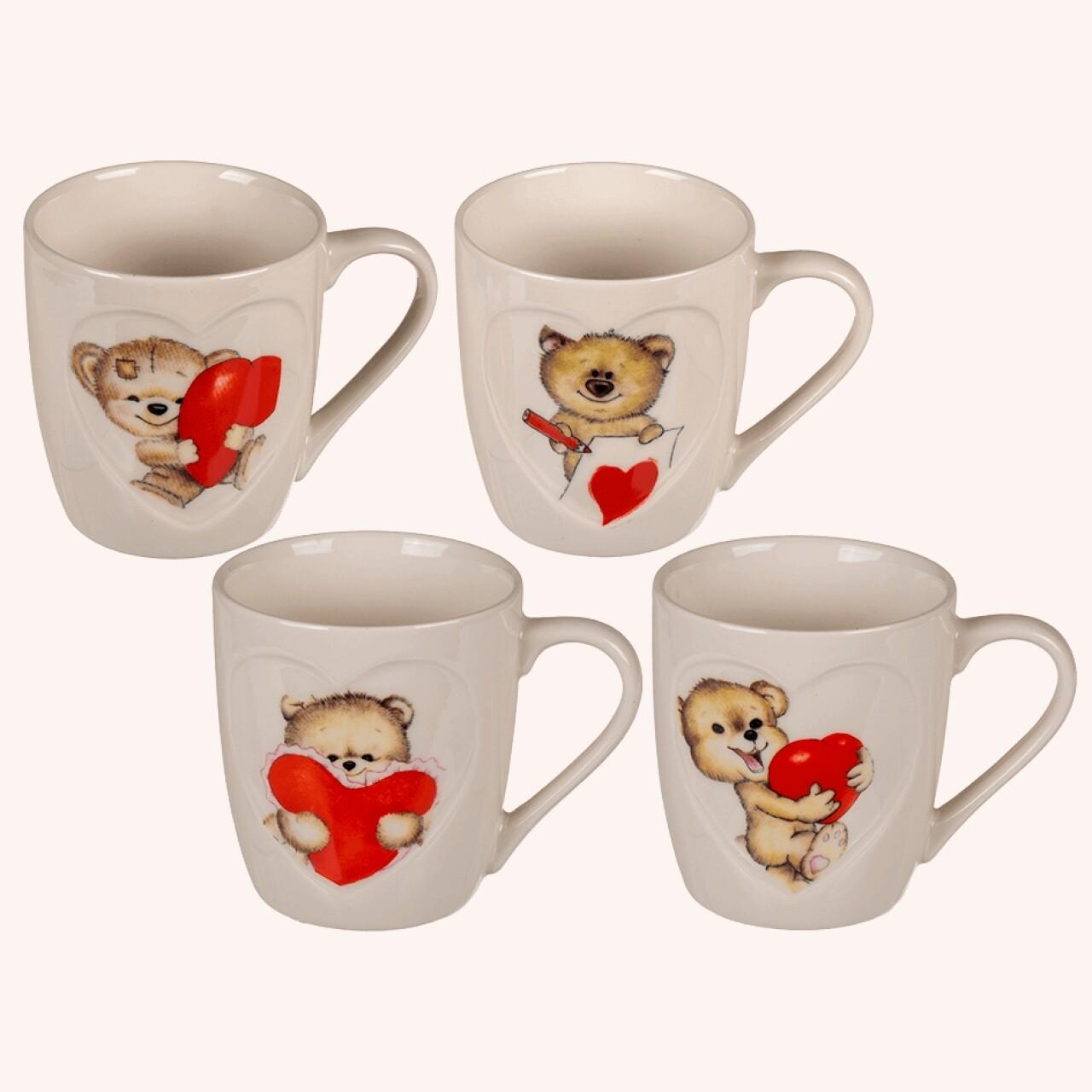 Set 4 cani Cute Bears