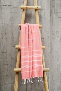 Prosop de plaja Sultan, Foutastic, 100x180 cm, rosu