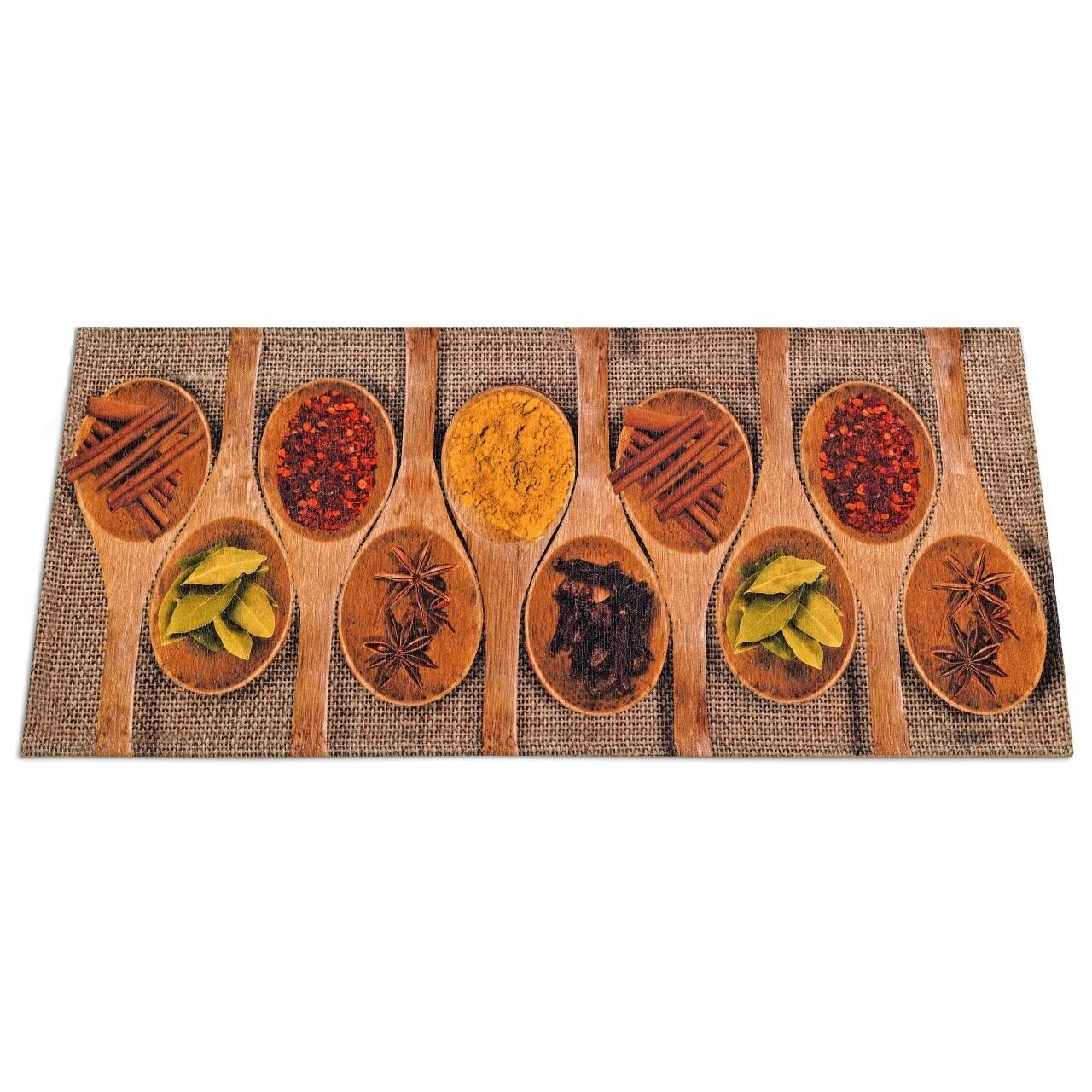 Covor rezistent Webtappeti Spices Market 60x115 cm, maro