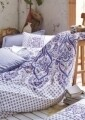 Lenjerie de pat pentru o persoana, 3 piese, 100% bumbac ranforce, Cotton Box, Vesta