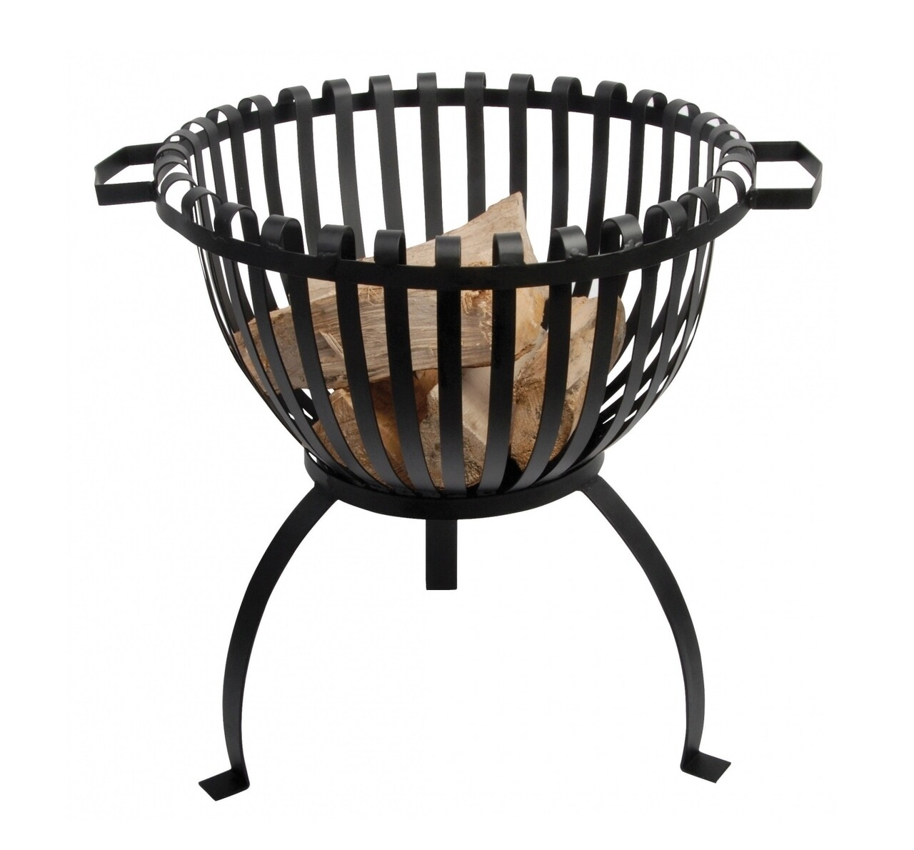Cos pentru lemne de foc, Esschert, metal