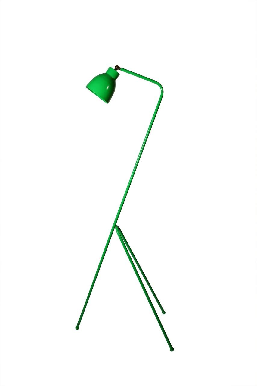 Lampadar Casa Parasio, H150 cm, 1 x E27, 60 W, verde