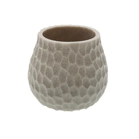 Suport periute si pasta de dinti Versa, Ø9.8 x 9 cm, rasina