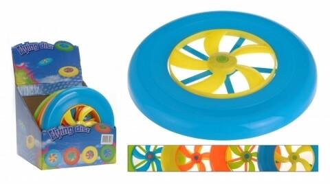 Frisbee cu elice , 23 cm, Heinner, Multicolor