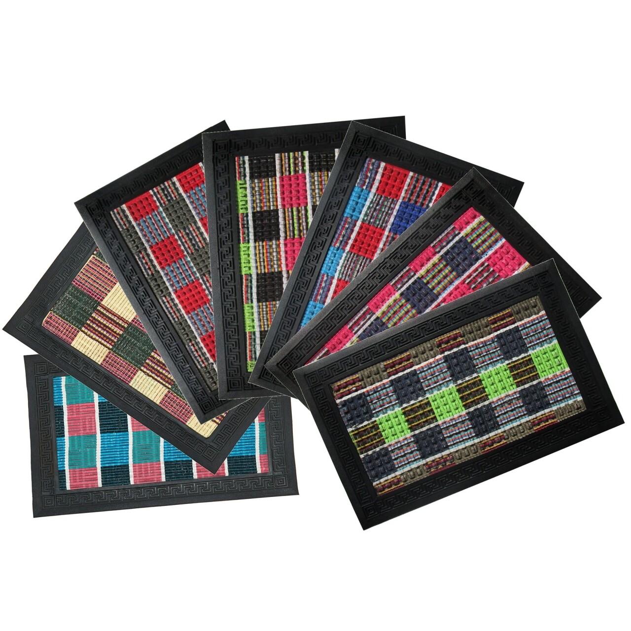 Covor de intrare, 40x60 cm, Vanora, multicolor