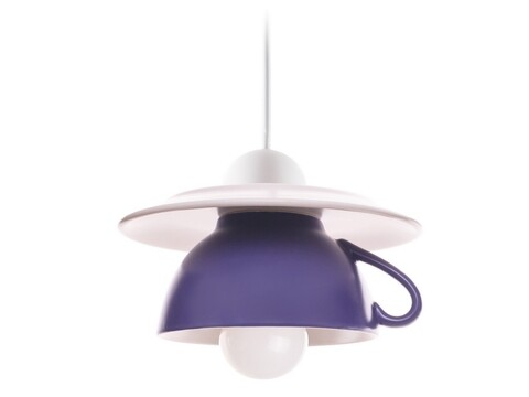 Pendul Afternoon tea, Deco Republic, E27, 1x60W, ceramica, indigo