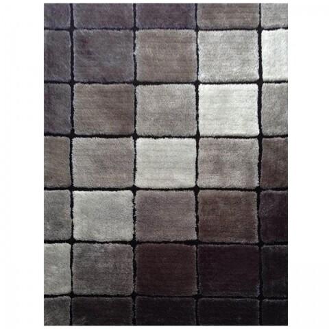 Covor Ludvic Koberec SM73B, 120 x 180 cm, 100% poliester, gri/negru