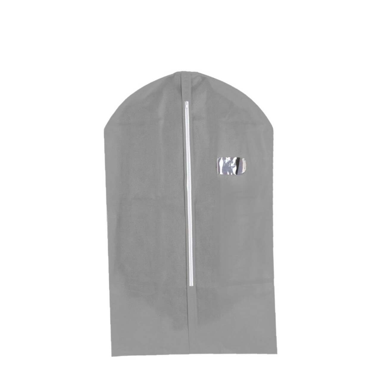 Husa pentru haine Grey, Jocca, 60x101 cm, PEVA, gri