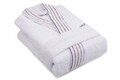 Halat de baie barbati, Beverly Hills Polo Club, 100% bumbac, S/M, White
