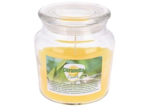Lumanare Citronella, 10x11 cm, sticla
