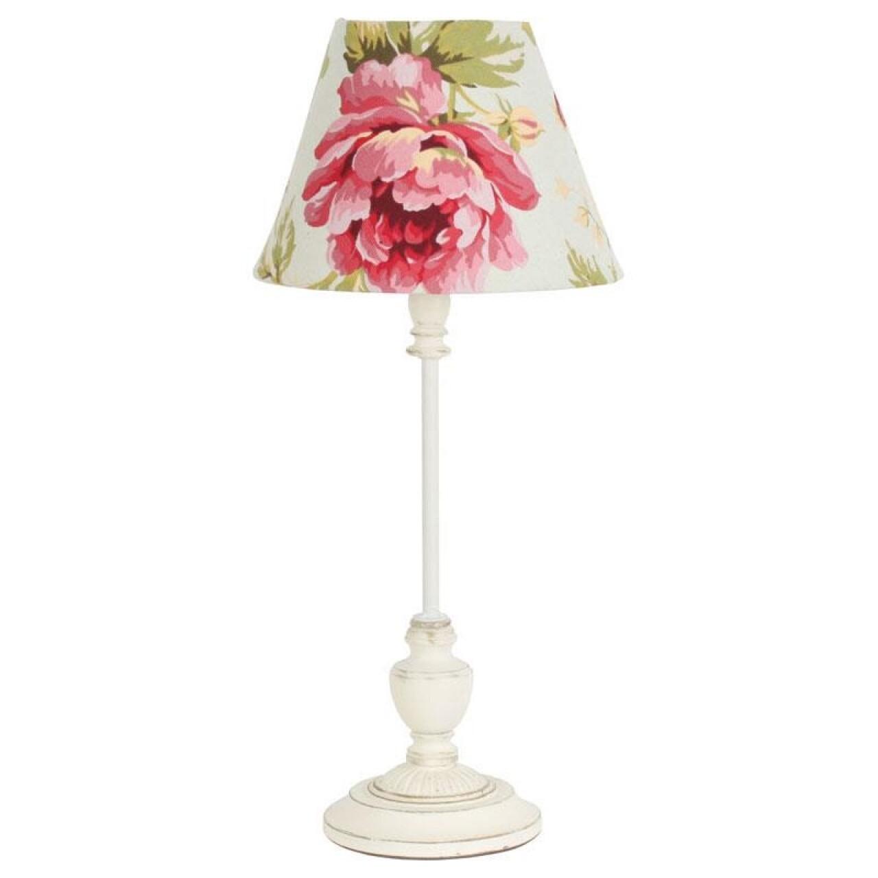 Lampa de masa InArt, 21x46 cm, metal, Cream