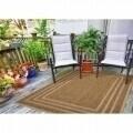 Covor indoor outdoor Floorita BORDER BEIGE 133X190
