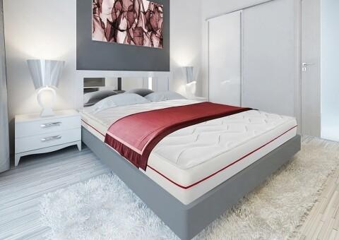 Saltea Super Ortopedica Red Line 7 180x200 cm zone de confort, 14+2 Memory