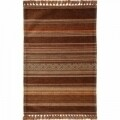 Covor rezistent Eko, IN 01 - Brown, Terra, 100% acril,  120 x 180 cm