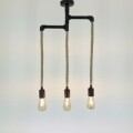 Candelabru All Design, metal, 40x60 cm, Black