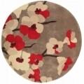 Covor Infinite Blossom Red 135 cm