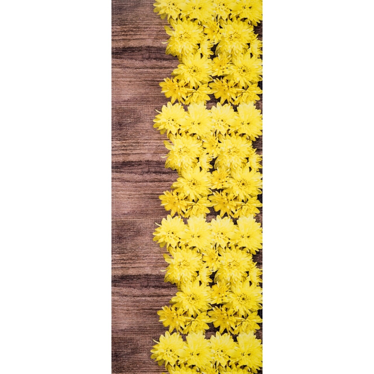 Covor rezistent Webtappeti DALIE CM 58x140 cm, galben/maro