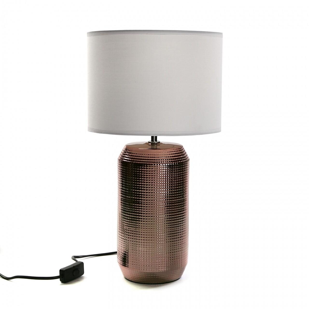 Veioza Ceramic Copper, E14, 40 W