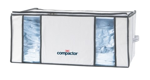 Cutie cu sac pentru vidat XXL, Compactor, 210 L, alb