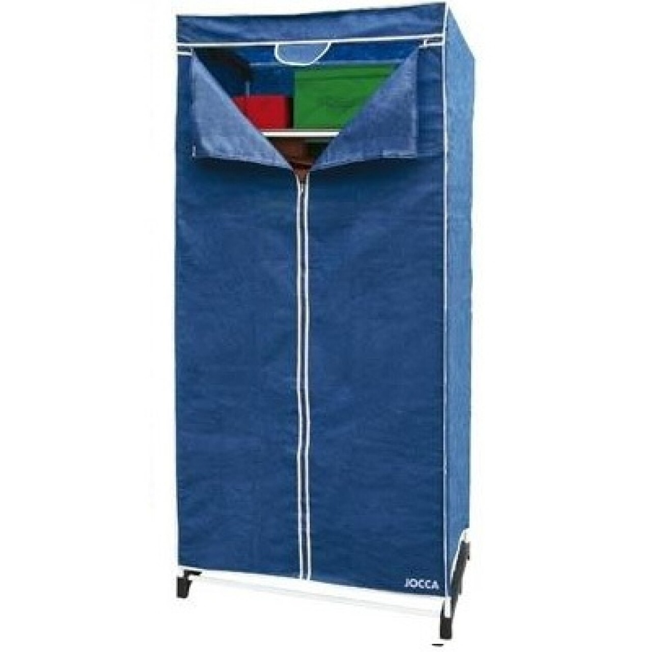 Dulap pentru depozitare cu raft Blue, Jocca, 50 x 70 x 180 cm, polipropilena/metal, albastru