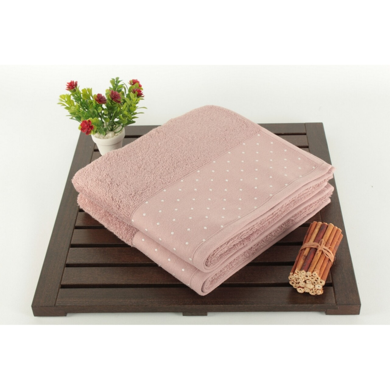 Set 2 prosoape Pitircik, 50x90 cm, roz