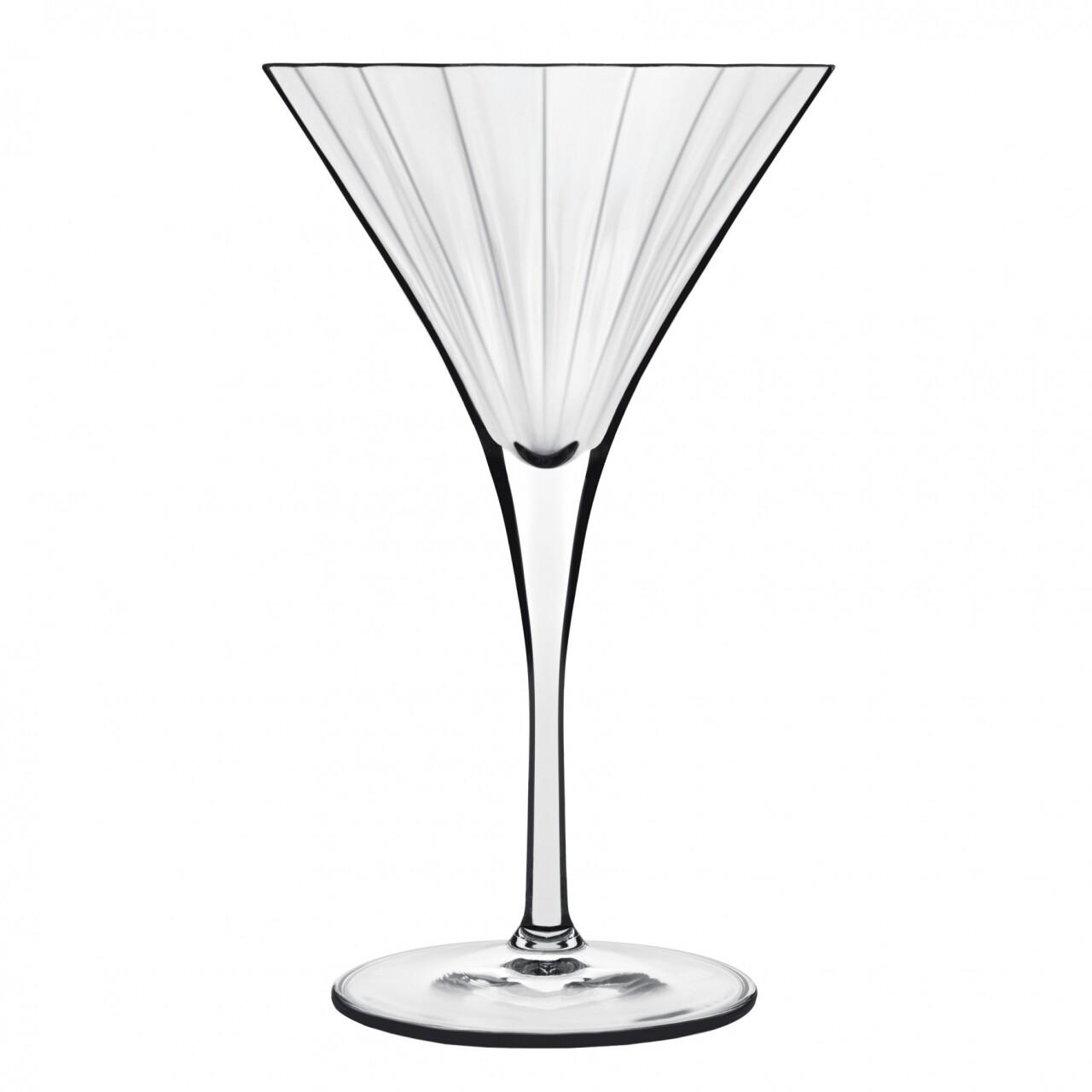Set 4 pahare martini si cocktail, Bach, Luigi Bormioli