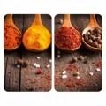 Set 2 protecții universale pentru aragaz, Wenko Curry